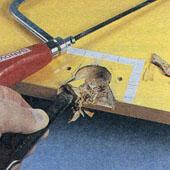 Как укрепить сломанный фасонный шарнир