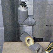 Изоляция труб системы отопления
