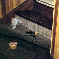 Как покрыть ковровым покрытием ступени лестницы