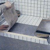 Как облицевать плиткой рабочую поверхность