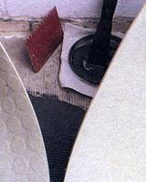 как приклеить ковровое покрытие