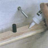 Как прикрепить полку к стене