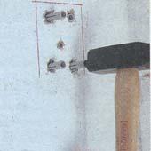 Как установить решетку на приямок (световую шахту)