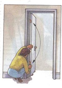 двери -  как самостоятельно отремонтировать двери, ремонт двери