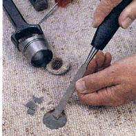 Как починить ковровое покрытие