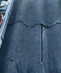 Как отреставрировать фиброцементный лист (шифер)