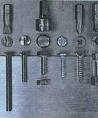 Как пользоваться шурупами-саморезами и винтами