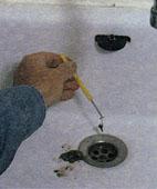 Как прочистить сток