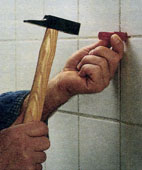 Как укрепить умывальник