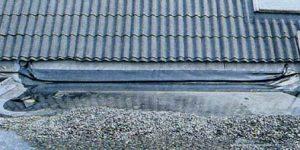Уплотнение крыши