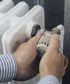 Уплотнение терморегулятора