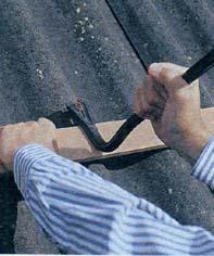 Как закрепить фибро-цементный лист (шифер)