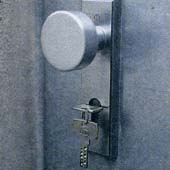 Как защитить запасную дверь в доме