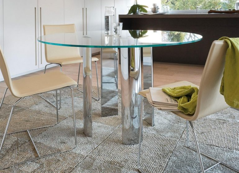 Как сделать стеклянный стол на кухню